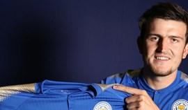 Leicester contrata defesa Harry Maguire por 19,5 milhões de euros