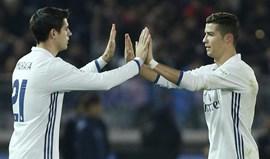 Possível saída de Ronaldo trava transferência de Morata