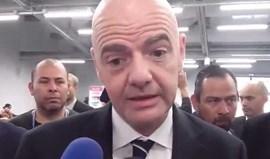 Presidente da FIFA chocado com incêndios: «É incrível... não há palavras»