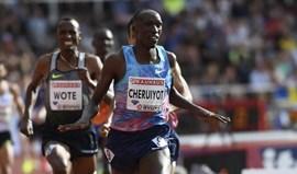 Timothy Cheruiyot faza melhor marca mundial do ano nos 1.500 metros