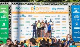 Godfrey Kosgey e Ednah Mukhwan vencem maratona do Rio de Janeiro