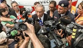 Marcelo evita mais frentes que não o combate ao fogo e o apoio às vítimas