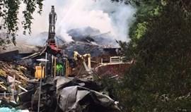 Suécia: Sede do primeiro clube de Lindelöf totalmente destruída