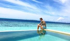 Lindelöf descansa nas Maldivas
