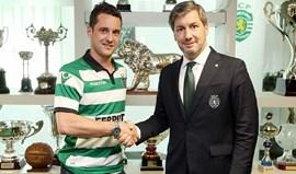 Sporting confirma contratação de Toni Pérez