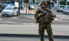 Presumível terrorista neutralizado por militares em Bruxelas