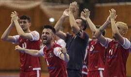 Incidentes no Sp. Braga-Sporting em futsal
