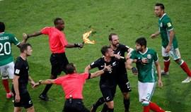 FIFA não vai intervir nos confrontos entre México e Nova Zelândia