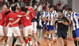 Benfica-FC Porto: Federação rejeita recurso dos dragões