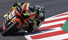 Moto2: Baldassarri está bem fisicamente mas fica fora da corrida