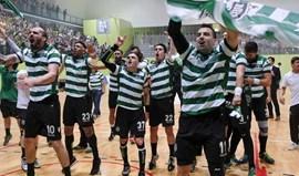 Sporting disputa pré-eliminatória da Liga dos Campões