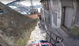Uma visão bem diferente das ruas do Porto