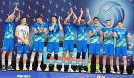 Eslovénia bate Japão e conquista Grupo 2 da Liga Mundial