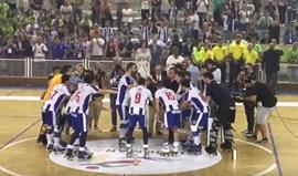 O momento mais esperado pelos jogadores de hóquei em patins do FC Porto