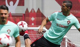 Portugal começa a preparar jogo com Chile sem Bernardo Silva e Guerreiro
