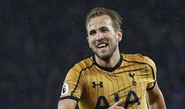 Tottenham fixa preço de Harry Kane em mais de 220 milhões de euros