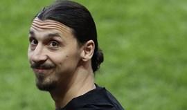 Atlético Madrid pensa em Ibrahimovic para janeiro