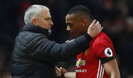 Martial desmente alegada vontade de sair do United