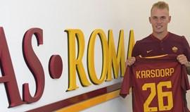 Rick Karsdorp oficializado como reforço da Roma