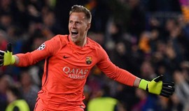 Ter Stegen: «Real Madrid foi mais forte e no final mereceu o título»