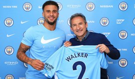 Oficial: Kyle Walker assina pelo Manchester City