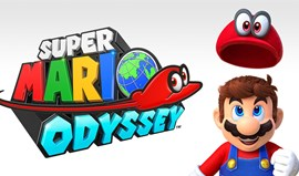 Pack Switch com Super Mario Odyssey