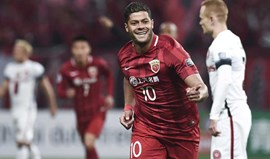China: Hulk bisa na goleada do Shanghai SIPG