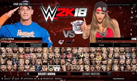 WWE2K18: Trailer de gameplay já roda