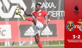 Benfica B perde no arranque da Premier League International Cup