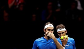 Roger Federer e Rafael Nadal disputam final do Masters 1000 de Xangai