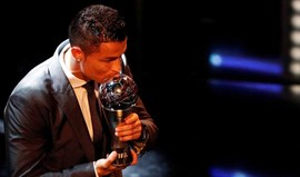 'The Best': Ronaldo venceu com percentagem recorde