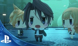 World of Final Fantasy no PC em novembro