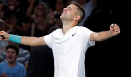 Filip Krajinovic defronta Jack Sock na final do Paris Masters