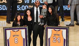 Tributo dos Lakers a Kobe Bryant
