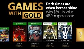 Games with Gold: Chegaram as ofertas