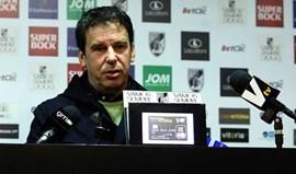 Manuel Machado: «Riscos semelhantes ao de qualquer jogo»