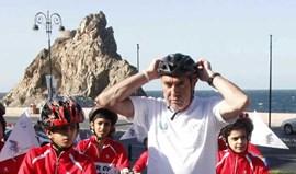 Eddy Merckx participa numa prova em Évora