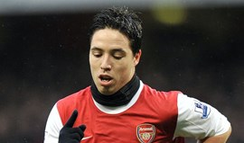 Samir Nasri na mira do Manchester United
