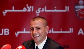 Al Ahli rescinde com Fabio Cannavaro