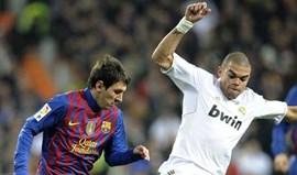 Eurodeputados catalães colocam questão sobre pisadela de Pepe a Messi