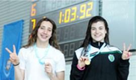 Três recordes juniores em Coimbra