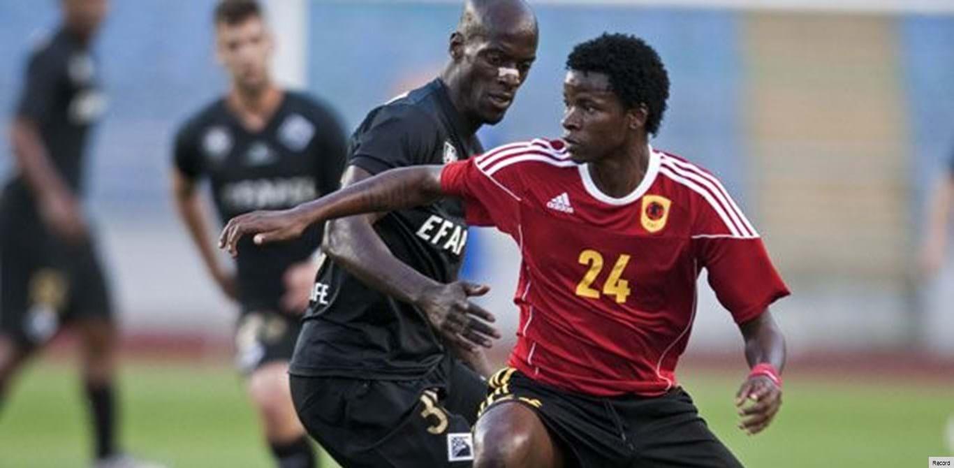 Angola empata com Macedónia em jogo de preparação
