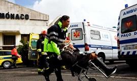 Colisão de comboios em Caxias faz 33 feridos