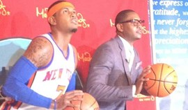 Carmelo Anthony no Madame Tussauds