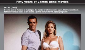 50 anos de James Bond