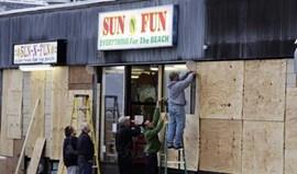 Furacão Sandy alerta população