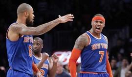 Carmelo Anthony empurra Knicks para a vitória (100-97)