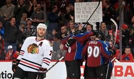 NHL: Avalanche varre série vitoriosa