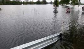 Estradas cortadas e inundações em Portalegre