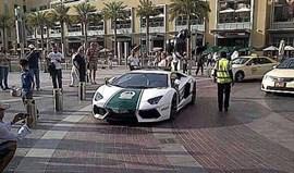 Lamborghini Aventador reforça polícia do Dubai